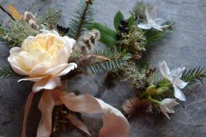Wild buttonhole Posies
