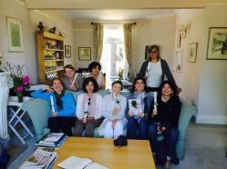 Il mitico gruppo di Donne giardiniere nelle Cotswolds 2014