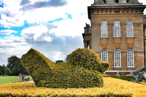 Topiaria spiritosa a Blenheim