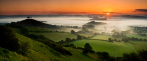 Panorama nel Dorset